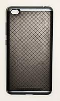 Чехол на Xiaomi Redmi 3 SGP Case Силикон и Пластик Черный Серый