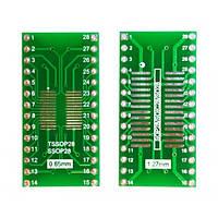 SO28 SSOP28 TSSOP28 на DIP28 переходник адаптер