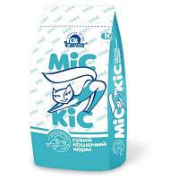 """Сухий корм """"Їжачок"""" Міс Кіс океанічна риба 10кг"""