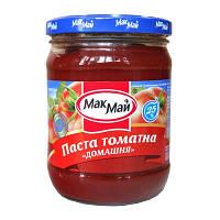 """Томатна паста Домашня 25% """"МакМай"""" ТВ 500г (1/12)"""