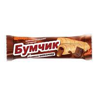 """Трубочки кукурудзяні """"Бумчик"""" зі смаком шоколаду 20г (1*24)"""