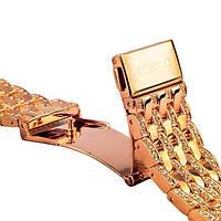 Ремешок для Apple Watch 38mm - COTEetCI W4 Magnificent розовое золото