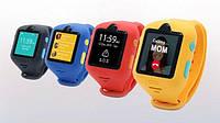 Детские смарт часы с SIM, GPS, и кнопкой SOS Set Tracher