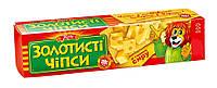 """Чіпси 100г сир """"Золотисті чіпси """" (1/48)"""