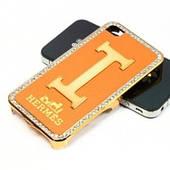 Чехол для iPhone 4 — HERMES