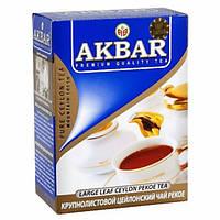 """Чай """"Акбар"""" 100г Пекое (1/30)"""