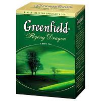 """Чай """"Грінфілд"""" 100г Зелений Flying Dragon (1/14) 667"""