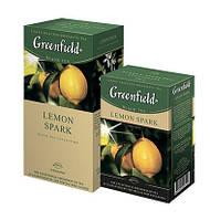 """Чай """"Грінфілд"""" 25п*1,5г Чорний Lemon Spark (Лимон) (1/10) 637, фото 1"""