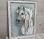 "Картина ""Белый конь"", фото 2"