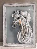 "Картина ""Белый конь"", фото 4"