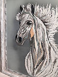 "Картина ""Белый конь"", фото 6"