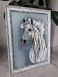 "Картина ""Белый конь"", фото 3"