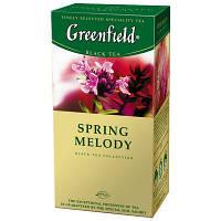 """Чай """"Грінфілд"""" 25п*1,5г Чорний Spring Melody (Чебрець) (1/10) 651, фото 1"""