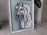 "Картина ""Белый конь"", фото 7"