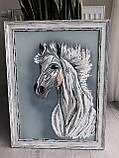 "Картина ""Белый конь"", фото 8"