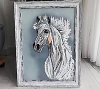 "Картина ""Белый конь"", фото 1"