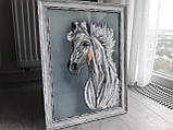 "Картина ""Белый конь"", фото 5"