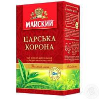 """Чай """"Майский"""" 85г Черный Крупнолистовой Царская Корона (1/48), фото 1"""
