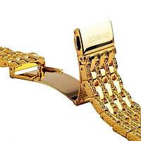 Ремешок для Apple Watch 42mm - COTEetCI W4 Magnificent золотой, фото 1