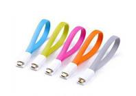 Дата кабель лапша магнит USB micro USB cable, фото 1