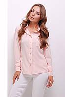 Блуза 1741 персик