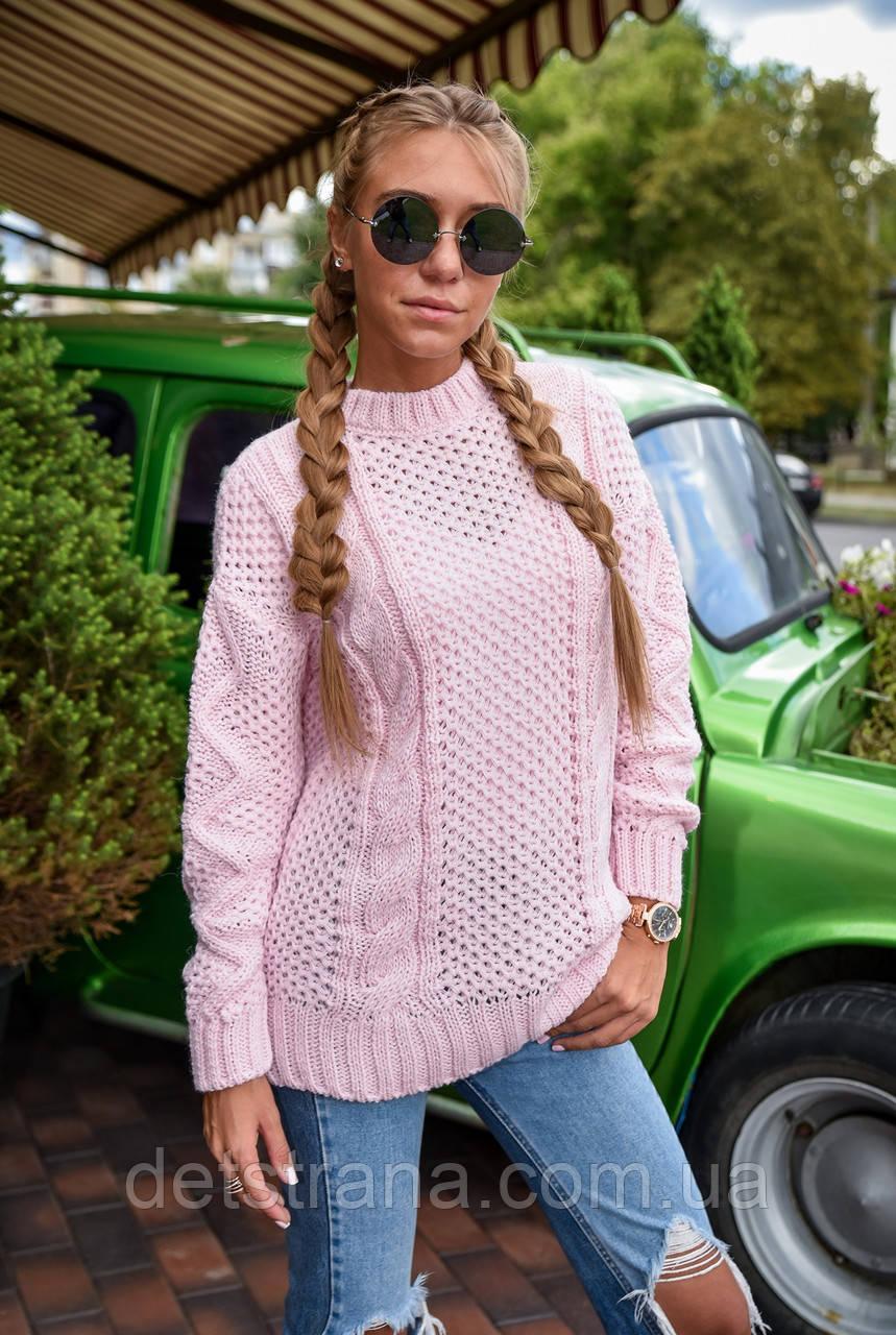 Вязаный свитер для женщин