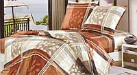 Комплект постельного белья полуторный из ранфорса люкс 251105