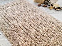 Коврик для ванной 60х100 Confetti - Cotton Stripe бежевый