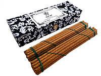 Тибетские храмовые благовония Black Veil (безосновные ароматические палочки, агар, 60 шт. 17 см)