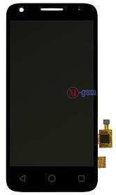 LCD модуль Alcatel 4027D черный