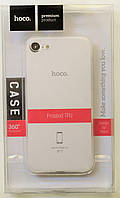 Чехол на Айфон 7 Hoco Soft Shell ТПУ Матовый Прозрачный, фото 1
