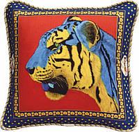 "Декоративная подушка ""Украинский тигр"""