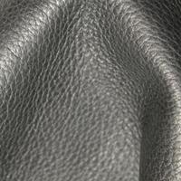 Черная натуральная кожа с принтом под оленя