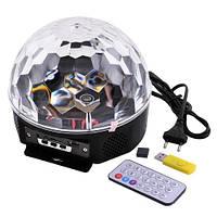Лазер диско YX-024-M4/XC-01 пульт, флешка