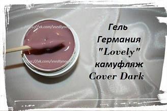 """Камуфлирующий гель """"LOVELY"""" Германия Cover Cover Dark"""