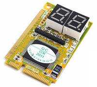 Post Card для диагностики ноутбуков (Mini PCI, Mini PCI-E, LPC)