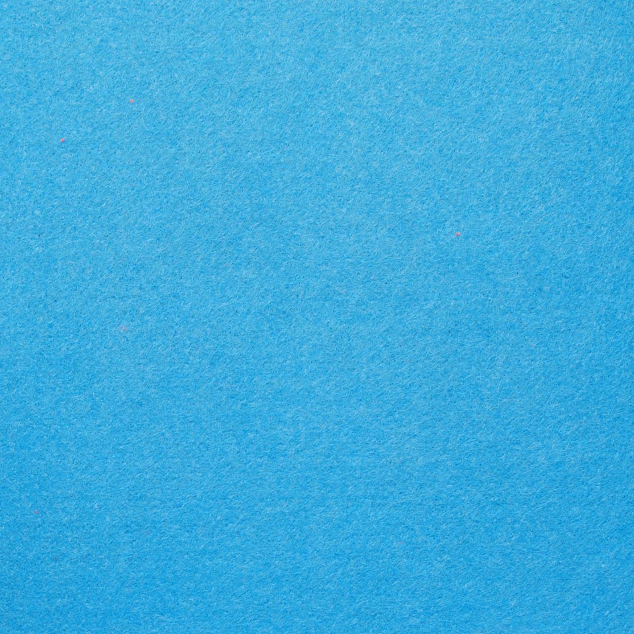 Фетр жесткий 4 мм, 45x33 см, ГОЛУБОЙ