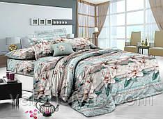 Комплект постельного белья сатин люкс 3D Борнео Moon Love ST 251044 (Полуторный)