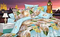 Комплект постельного белья сатин люкс 3D Moon Love ST 251049 (Двуспальный)