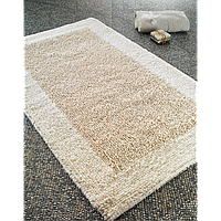 Коврик для ванной 60х100 Confetti - Natura heavy молочный
