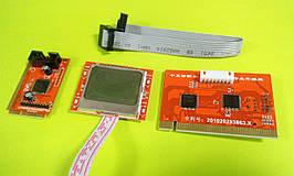 POST карта (компьютерный анализатор) PCI для портативных ПК Desktop PTI8 с LCD