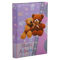 Детский фотоальбом Bear 300ф 10х15 Фиолетовый