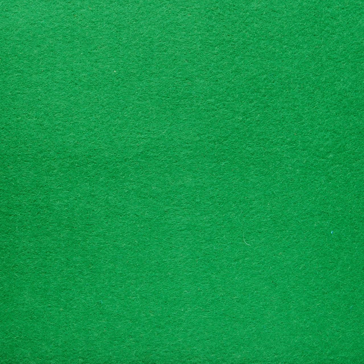 Фетр жесткий 4 мм, 45x33 см, ЗЕЛЕНЫЙ