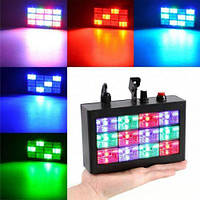 Комнатный RGB стробоскоп LED Room Strobe 12, фото 1