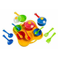 Детский набор посуды столовый из 19 элементов