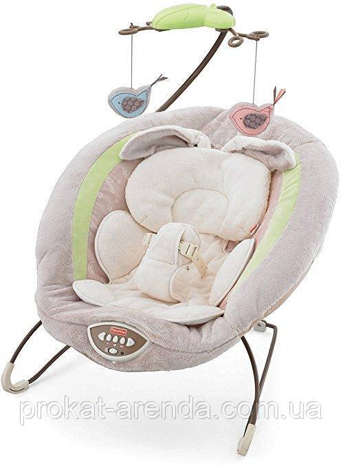 """Шезлонг для новорожденного Fisher-Price """"Мой маленький зайчик"""""""