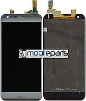 Оригинальный  Дисплей (Модуль) + Сенсор (Тачскрин) для  LG K580 X Cam (Серый)