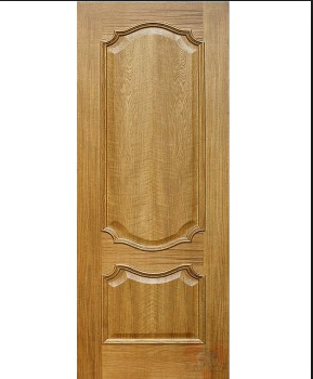 Двери из натурального шпонированого дуба Кармен, фото 2