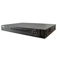 16-канальный Turbo HD видеорегистратор. Видео стандарт: Аналог и HD-TV, AHD, +2 IP камеры; Видео сжатие H.264+; Запись: 5МП, DS-7216HUHI-F2/S (1080p)