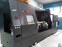 Обработка металла токарным многоцелевым станком SAMSUNG SMEC PL 45 LY с возможностью фрезерования и сверления